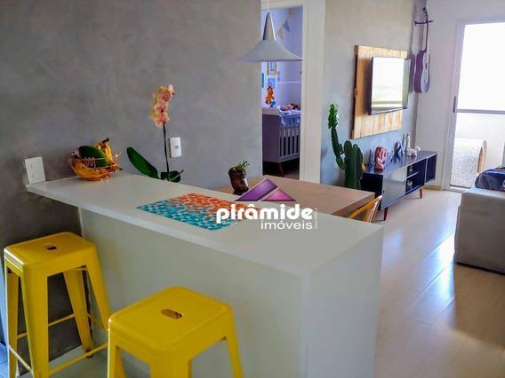 Apartamento Com 2 Dormitórios, 55 M² - Venda Por R$ 280.000,00 Ou Aluguel Por R$ 1.200,00/mês - Urbanova - São José Dos Campos/sp - Ap4312