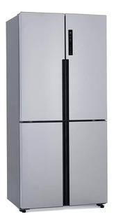 Heladera inverter no frost Patrick PQP458BKRSS0 acero inoxidable con freezer 516L 220V