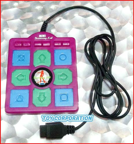 Mini Finger Pad Ddr Dance Revolution Family Game Joystick 9p
