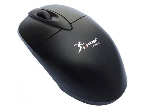 Mouse Usb Optico Grande 1200dpi Knup Kp-m629 Original