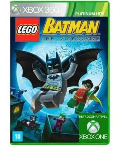 Lego Batman: The Videogame - Xbox 360 Original E Lacrado
