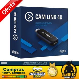 Elgato Cam Link 4k 1080p60 Usb 3.0 Hdmi Capturadora De Video