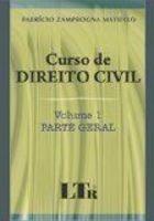 Livro Curso De Direito Civil (volume 1: Parte Geral)