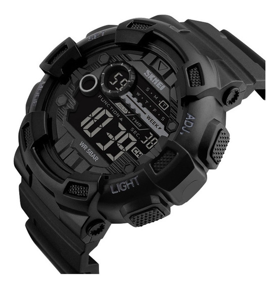 Relógio De Pulso Masculino Skmei Eletrônico Digital Moda