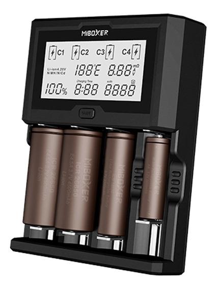 Miboxer C4 Plus Universal 2.5a 4 Bay Display Lcd Inteligente