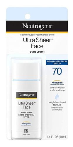Protector Solar Neutrogena Liquido Ultra Transparente