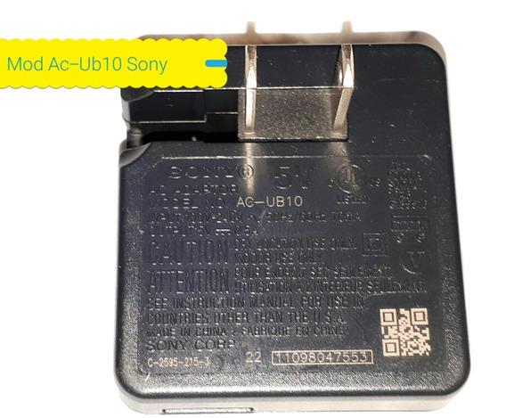 Carregador Sony Ac-ub10 C/ucb Produto Original