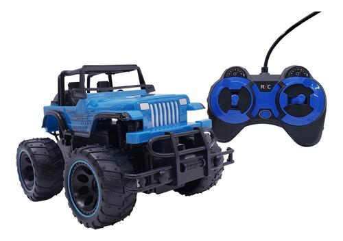 Jeep A Bateria 4 X 4 Todo Terreno Con Control Remoto Juguete