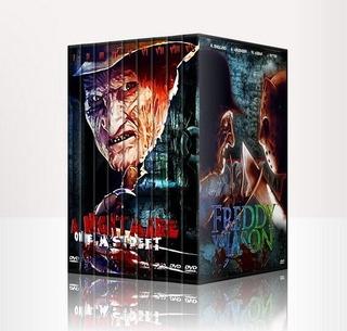 Colección Peliculas Freddy Krueger Dvd - Pesadilla