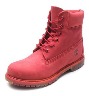 Bota Timberland Yellow Boot 6 Premium Feminina Original