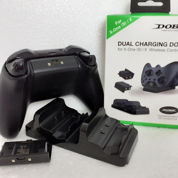 Kit Baterias Recarregável Controle Xbox One S X Fat Cabo Usb