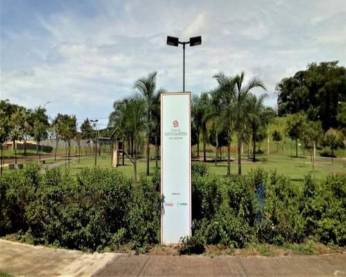 Terreno Residencial Com 252 M² No Terras De Santa Martha Na Cidade De Bonfim Paulista - Te00188 - 68497109