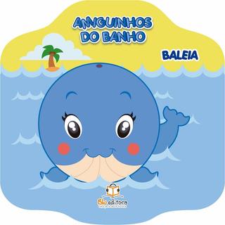 Livro Infantil Amiguinhos Do Banho Baleia Livro De Banho