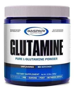Glutamina Gaspari Nutrition 300g Em Pó L-glutamine Importada