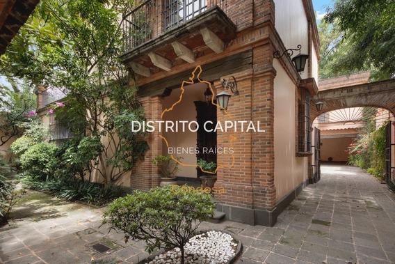 Casa En Renta Y Venta En Lomas De Chapultepec, Del. Miguel Hidalgo, Cdmx