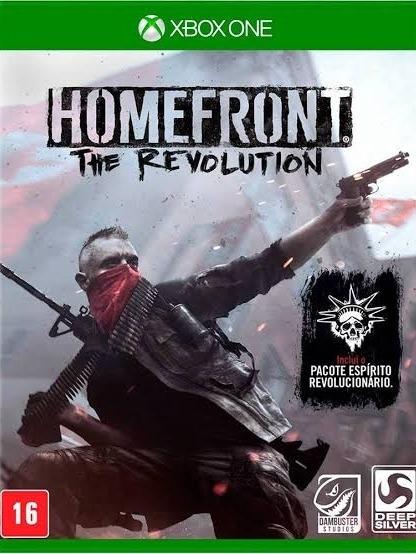 Homefront: The Revolution Midia Digital + 01 Jogo Brinde