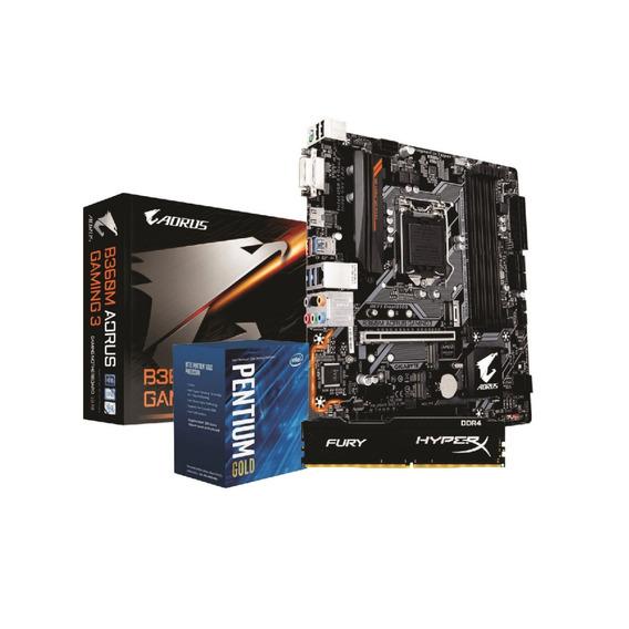 Kit Intel Pentium G5400 Ga B360m G3 8gb Fury 2400mhz