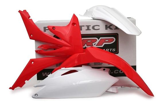 Kit Plástico Carenagem Roupa Crf450 09-10 Crf250 10 - Wrp