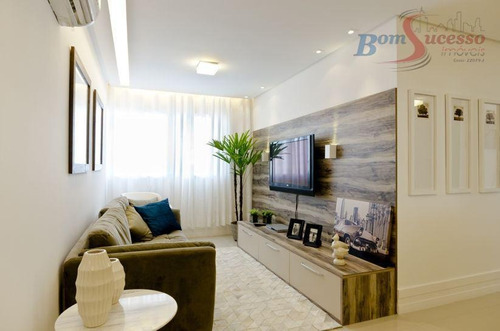 Imagem 1 de 12 de Apartamento Com 2 Dormitórios À Venda, 64 M² Por R$ 360.000,00 - Jardim - Santo André/sp - Ap1343
