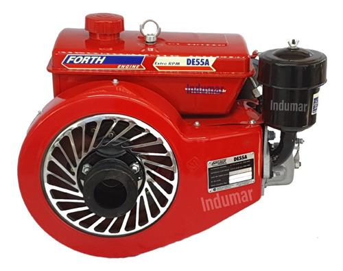 Motor Diesel 5,5 Cv Refrigerado A Ar Marca Forth
