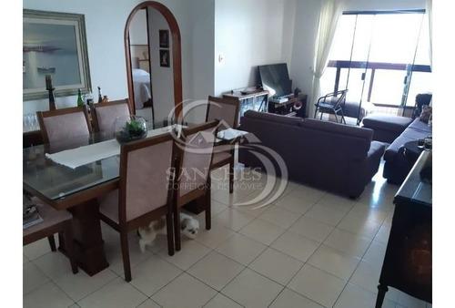 Imagem 1 de 15 de Apartamento Frente Para Praia 2 Dormitórios Suíte Na Praia Grande - Vila Caiçara