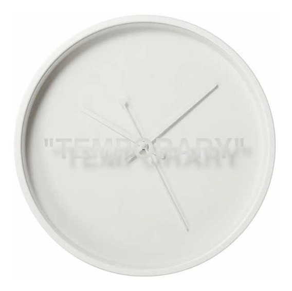 Reloj Off White Ikea X Virgil Abloh Blanco Original