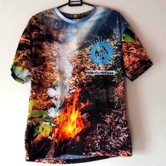 Camiseta Elemental Tribo Da Montanha