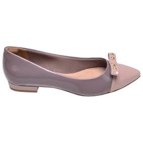 5b35752ded9 Sapatilha Bico Fino Via Marte Sapatilhas - Sapatos para Feminino no ...