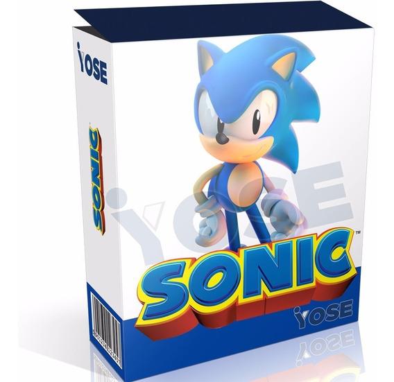 Kit Imprimible Sonic + Candy Bar + Envío Inmediato!!!