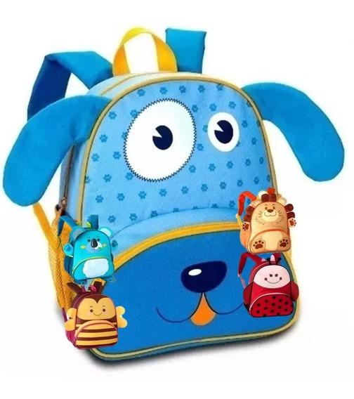 Mochila Infantil Animais Clio Pets - Original
