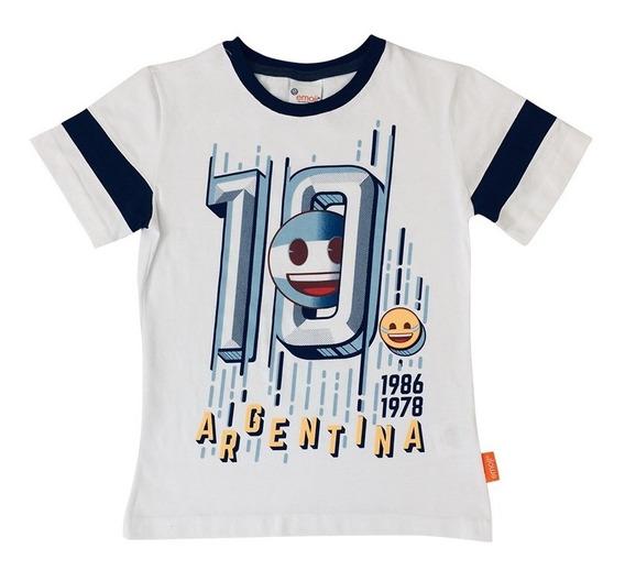 Playera Mexico Argentina Futbol Fc De Emoji Oficial