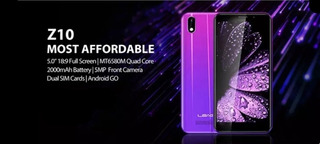 Smartphone Leagoo Z10 - Android Go - Tela 5 Pronta Entrega