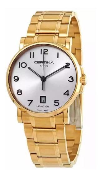 Reloj Certina Caimano Hombre Swiss Made