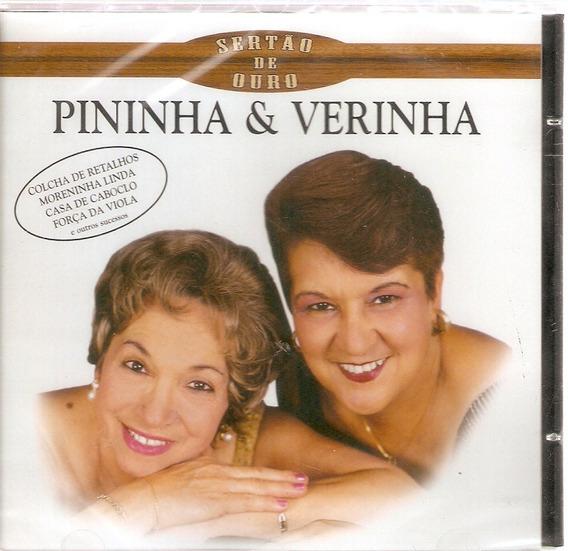 Cd Pininha & Verinha - Sertão De Ouro - Novo Lacrado***