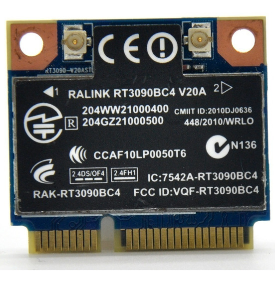 Wireless Wifi Rt3090bc4 V20a P/ Hp G42 G42-321br G42-271br