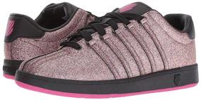 Tenis K-swiss Classic Vintage Rosa Multi Sparkle Sneaker Eva