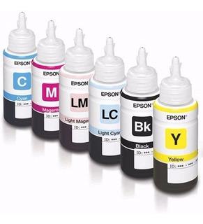 Tintas Originales Epson 673 L1800 L805 L800 6x70ml Vto 2años