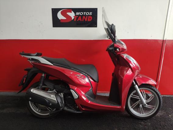 Honda Sh 300i 300 I Abs 2017 Vermelha Vermelho