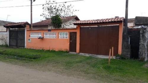 Casa 2 Dormitórios Com Edicula Lado Praia Em Itanhaém - 0067-cs