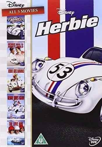 Herbie Fusca (coleção 5 Filmes) + Brinde & Frete Grátis