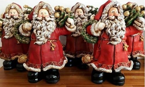 Imagem 1 de 3 de Papai Noel Peça Decorativa - 35 Cm Brasil De Todos Os Santos