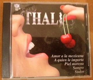 Cd De Thalia ..amor A La Mexicana