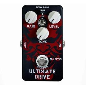 Pedal De Guitarra Overdrive Joyo Ultimate Drive