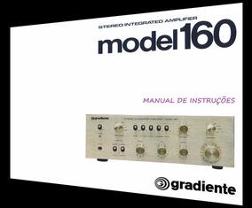 Manual Do Amplificador Gradiente Model 160 (cópia Colorida)