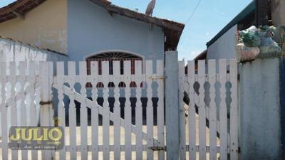 Entrada R$ 50 Mil E ( Negocia Carro ) Aceita Pagar O Saldo No Nome Dele. Aproveita! Casa À Venda Por R$ 160.000 - Santa Eugênia - Mongaguá/sp - Ca3473