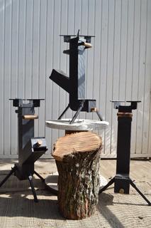 Estufa De Leña Ecoeficiente Tipo Rocket Con Base Versátil