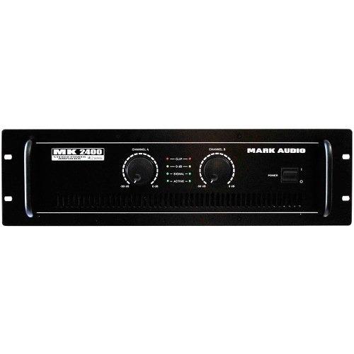Amplificador 400w 4 Ohms Mk 2400 Mark Audio - Oferta