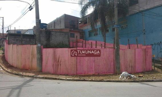 Terreno À Venda, 150 M² Por R$ 159.000 - Cidade Soberana - Guarulhos/sp - Te0126