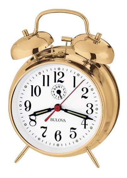 Bulova B8124 Bellman Reloj, Acabado De Latón