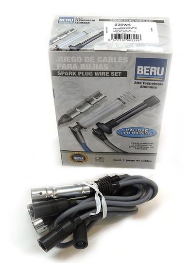 Cables Bujias Jetta Golf 87 - 94 95 96 97 98 99 1.8 Lt Beru
